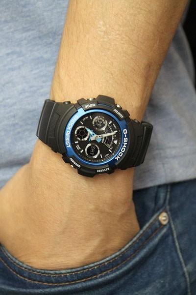 5bc271bfb276 Наручные часы CASIO G-SHOCK CLASSIC AW-591-2A